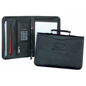 Rainer Grip Leather Carry Padfolio