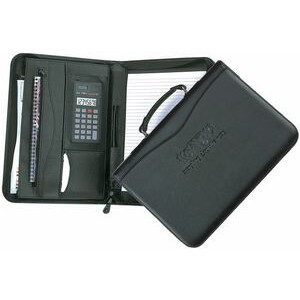 Executive Zip & Carry Zipper Portfolio