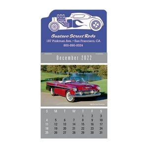 Cruisin' Cars Full Color Press-N-Stick™ Calendar